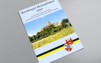 Bernburger Heimatblätter