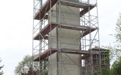 Umgestaltung des Trafoturms in Zellewitz als Artenschutzhotel