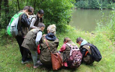 Naturaktionstag im Naturparks Unteres Saaletal