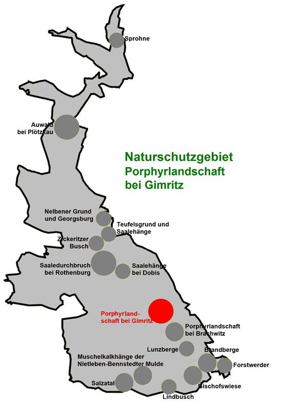 NSG Porphyrlandschaft bei Gimritz