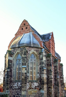 Templerkapelle Wettin / Mücheln