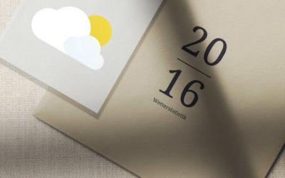 2016 Wetterstatistik
