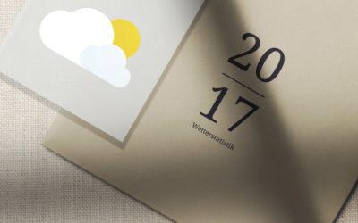 2017 Wetterstatistik