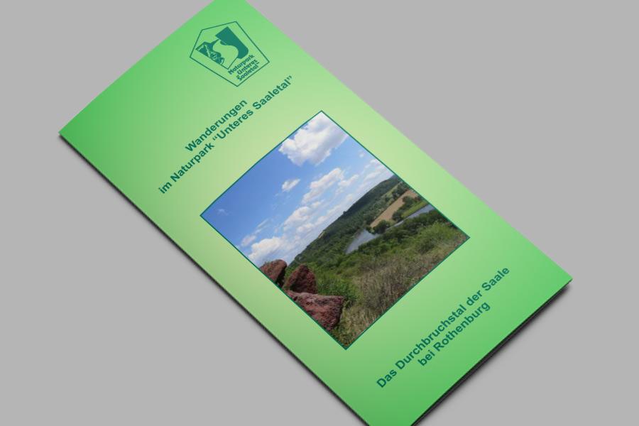 Flyer: Das Durchbruchstal der Saale bei Rothenburg
