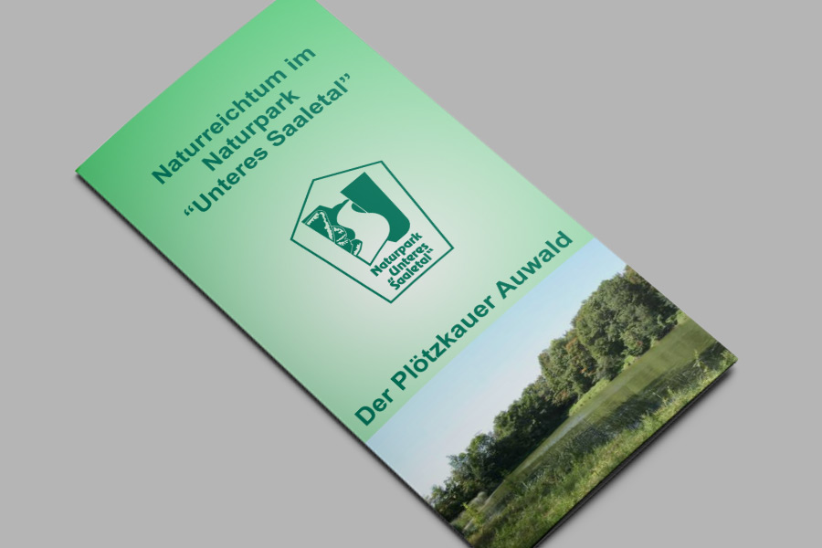Flyer: Der Plötzkauer Auwald