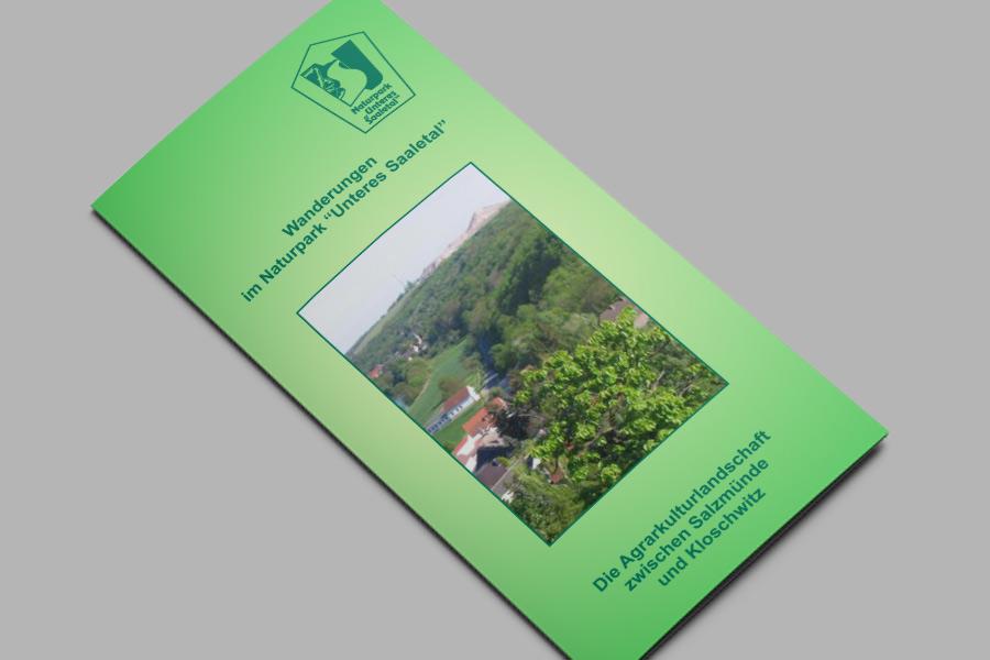 Flyer: Die Agrarkulturlandschaft zwischen Salzmünde und Kloschwitz