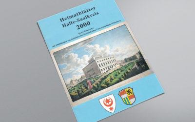 Heimatblätter Halle-Saalkreis
