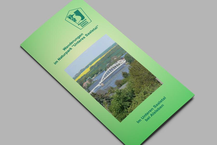 Flyer: Im Unteren Saaletal bei Alsleben