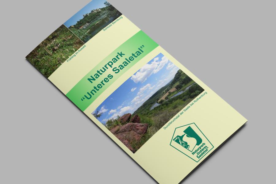 Flyer: Naturpark Unteres Saaletal