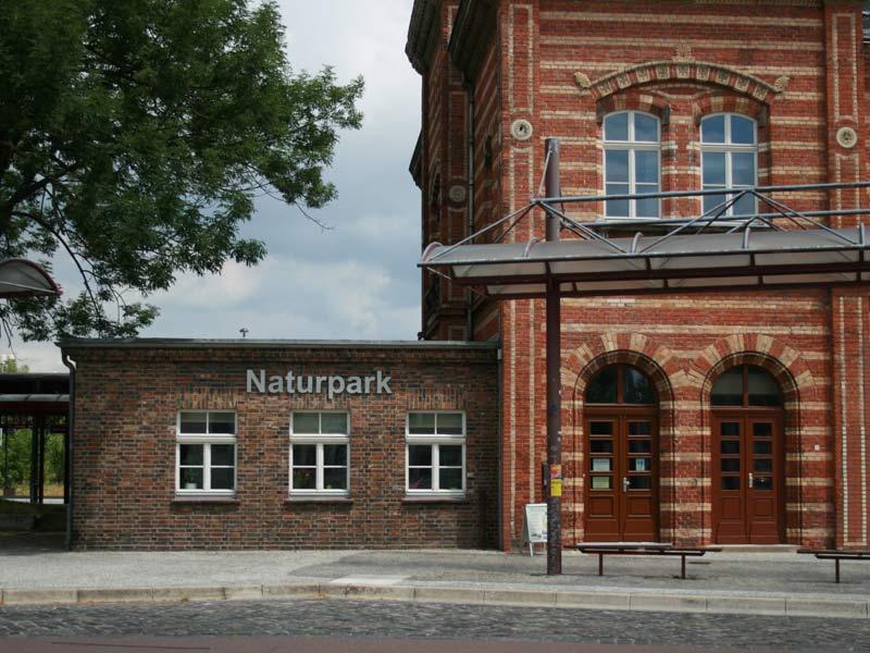Informationszentrum Bernburg (Bahnhof)
