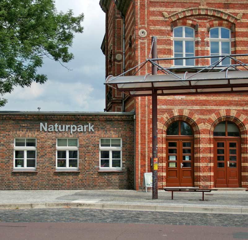 Informationszentrum Bahnhof Bernburg