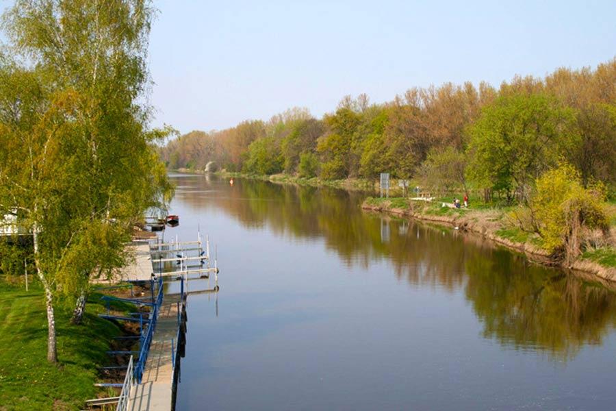 Saale bei Nienburg