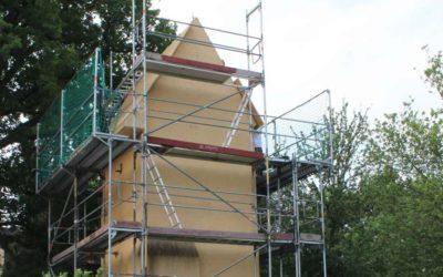 Umgestaltung des Trafoturms in Wils als Artenschutzhotel